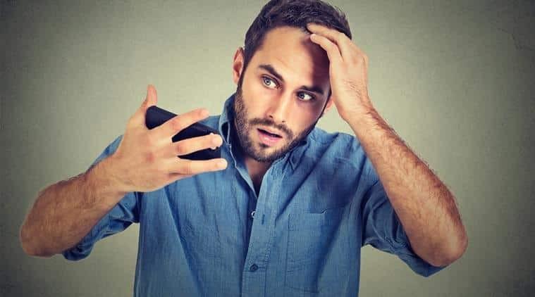 rụng tóc ở nam giới