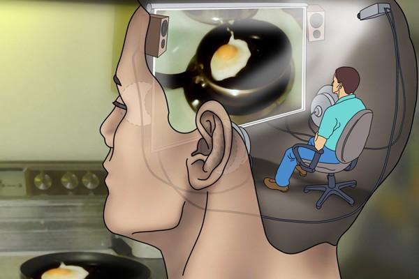 Đôi khi, người bệnh cảm thấy như đứng bên ngoài cơ thể và quan sát chính mình