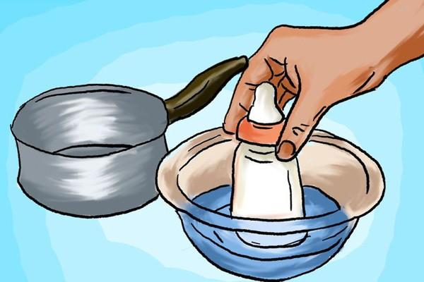Cần cẩn thận khi rã đông hay làm nóng sữa