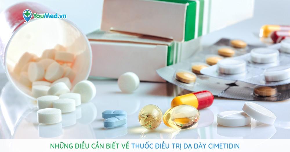 thuốc điều trị dạ dày Cimetidin