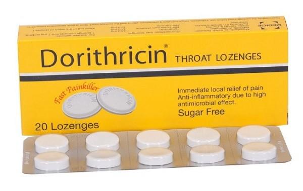 Viên ngậm thuốc Dorithricin