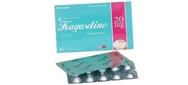 Tìm hiểu thông tin thuốc Kagasdine (omeprazol)