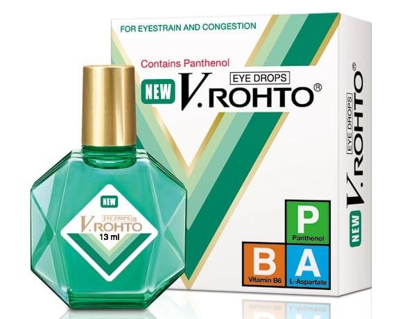 Thuốc nhỏ mắt New V.Rohto