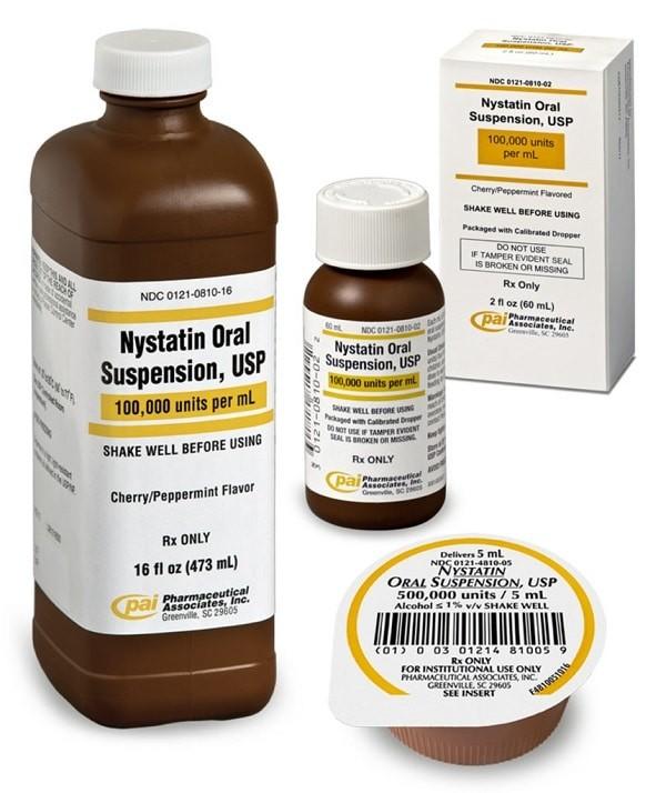 thuốc kháng nấm Nystatin