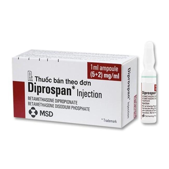 Thuốc tiêm Diprospan (betamethasone)