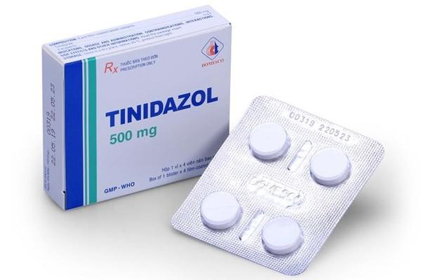 Thuốc Tinidazol dạng viên nén