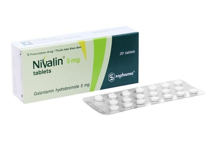 thuốc Nivalin (galantamin)