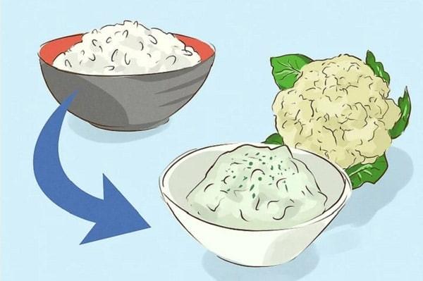 Bạn có thể thay đổi những loại thực phẩm có hàm lượng dinh dưỡng tương tự