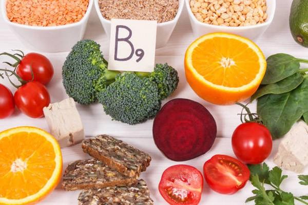 Một số thực phẩm có vitamin B9 dồi dào