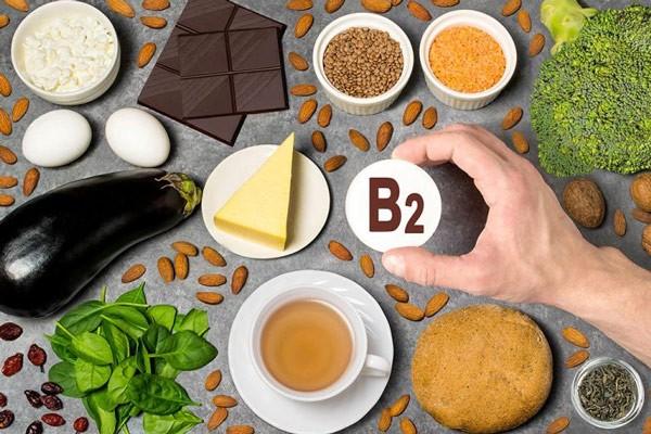 Một số thực phẩm có nhiều vitamin B2