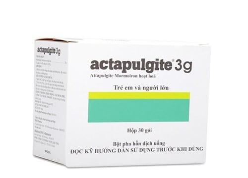 Actapulgite 3g - Thuốc biệt dược, công dụng , cách dùng - VN-6779-02