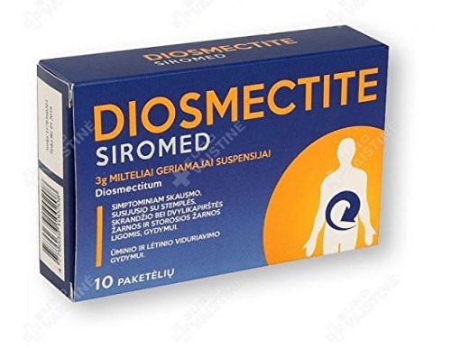 Diosmectite Siromed N10 Treatment of acute and chronic diarrhea - Buy  Online in India. | corpus medica Products in India - See Prices, Reviews  and Free Delivery over ₹4,000 | Desertcart