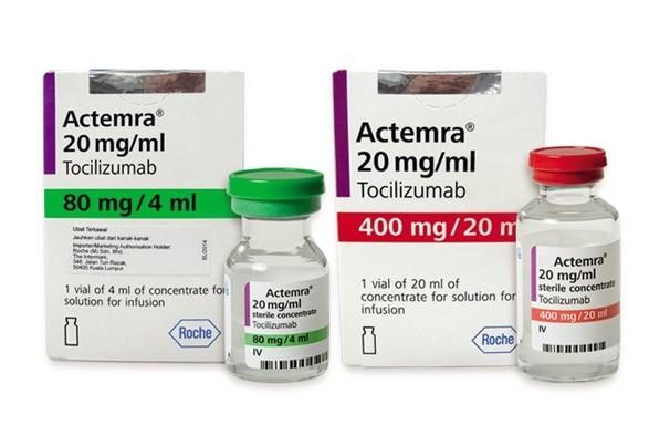 Thuốc Actemra (tocilizumab)