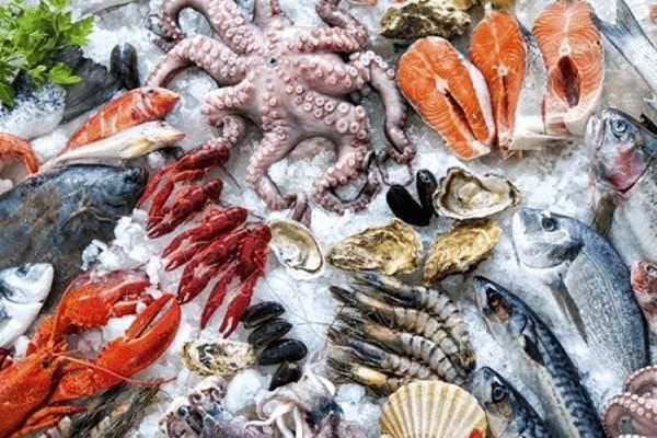 Chế độ ăn nhiều hải sản làm tăng Acid uric máu
