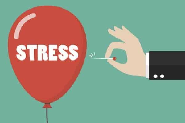 Không lên đỉnh do stress
