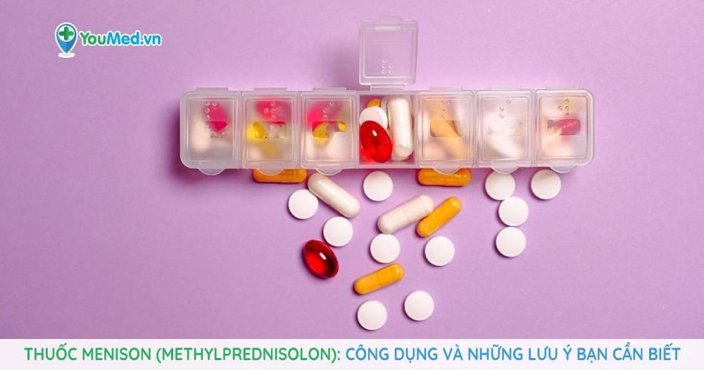 Thuốc Menison (Methylprednisolon)