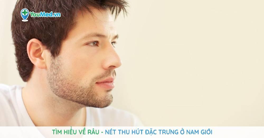 râu - nét thu hút đặc trưng ở nam giới