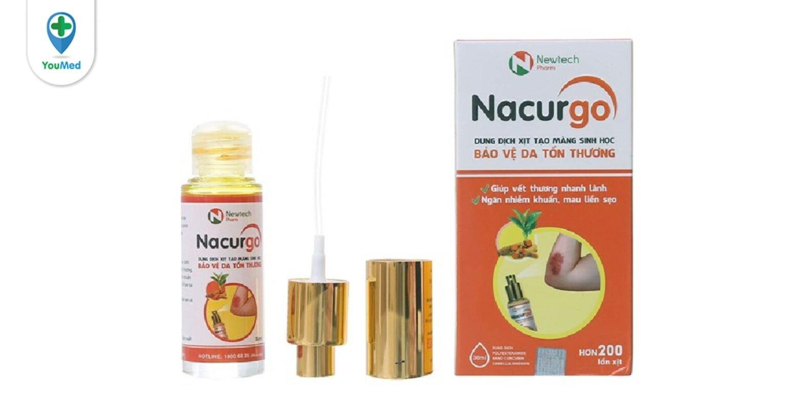 Nacurgo và 2 dòng sản phẩm điều trị các vấn đề về da