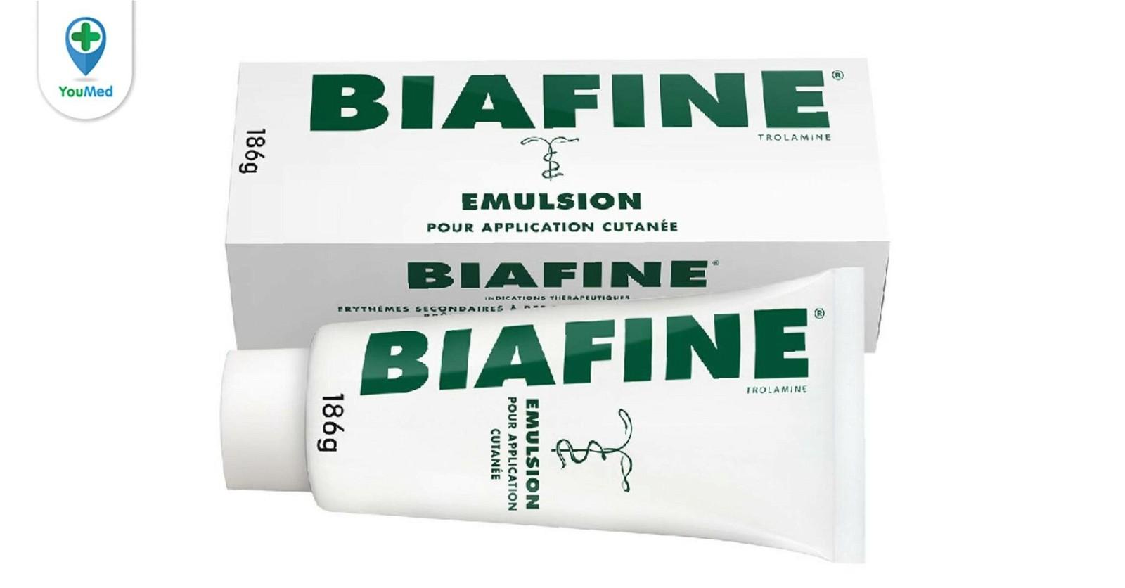 Những điều cần biết về thuốc trị bỏng Biafine