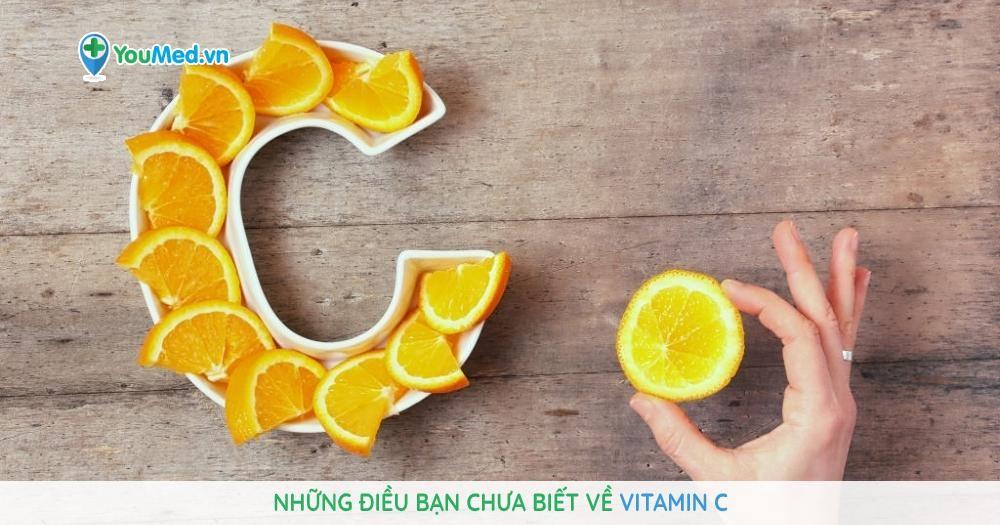Những điều bạn chưa biết về Vitamin C