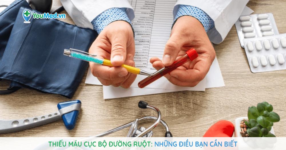 Thiếu máu cục bộ đường ruột: những điều bạn cần biết!