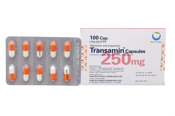Thuốc cầm máu Tranexamid acid