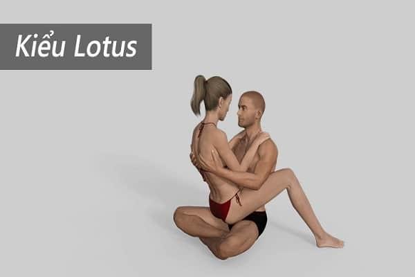 Tư thế Lotus 2 người