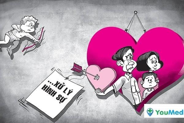 Người ngoại tình có thể bị xử phạt theo Luật Hình sự