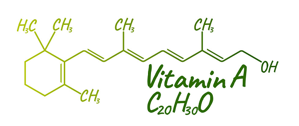 Cấu trúc hoá học của vitamin A