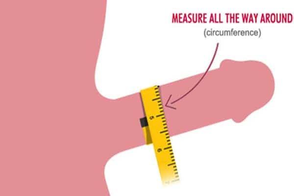 Cách đo dương vật theo chu vi
