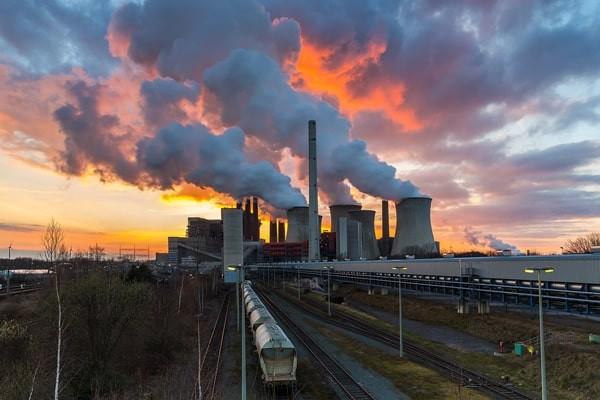Khí đốt từ các nhà máy than đốt chứa Fluor