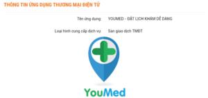 youmed đăng ký thành công với bộ công thương