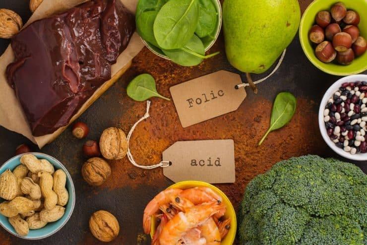thực phẩm bổ sung folate