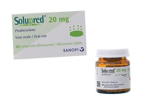 Thuốc Solupred (prednisolone)