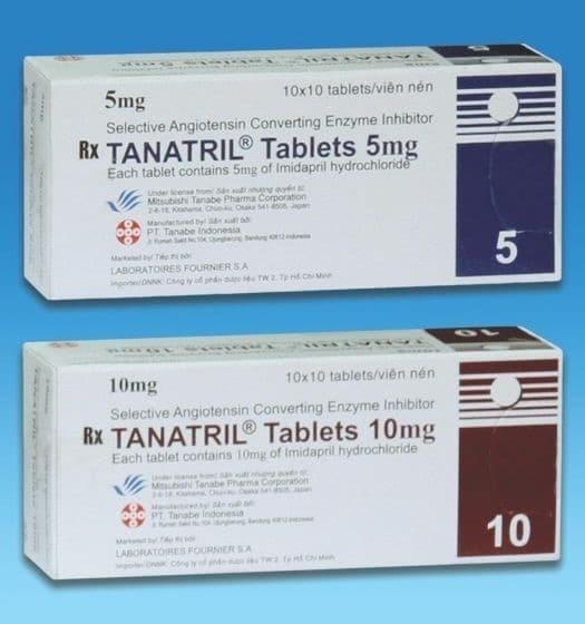 Tổng hợp những thông tin liên quan đến thuốc Tanatril®