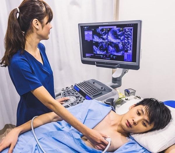 Siêu âm tim - cận lâm sàng đơn giản, có giá trị cao trong chẩn đoán bệnh lý gây âm thổi