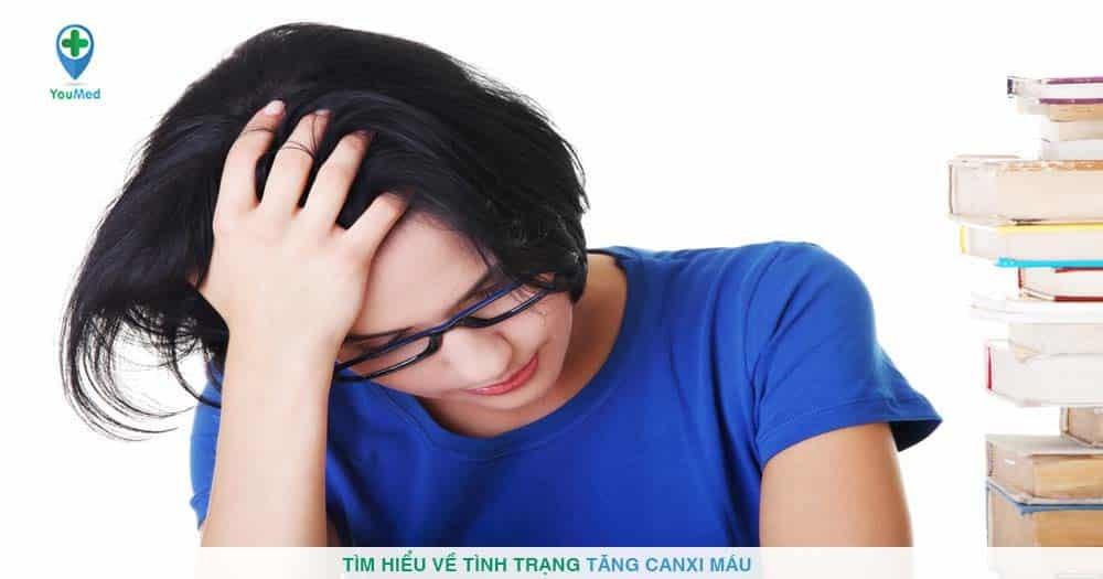 Tìm hiểu về tình trạng tăng canxi máu