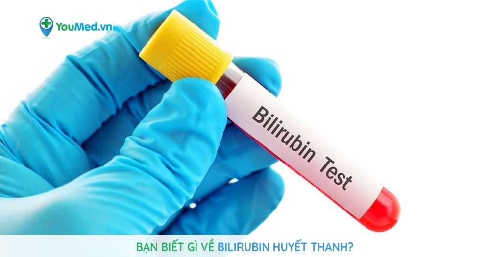 Bạn biết gì về bilirubin huyết thanh
