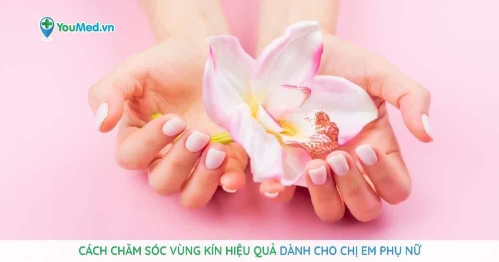 Cách chăm sóc vùng kín hiệu quả dành cho chị em phụ nữ