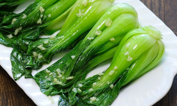 Cải thìa là loại rau được sử dụng ở nhiều bữa ăn gia đình.