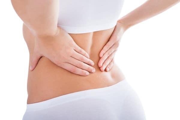 Đau thắt lưng là triệu chứng điển hình