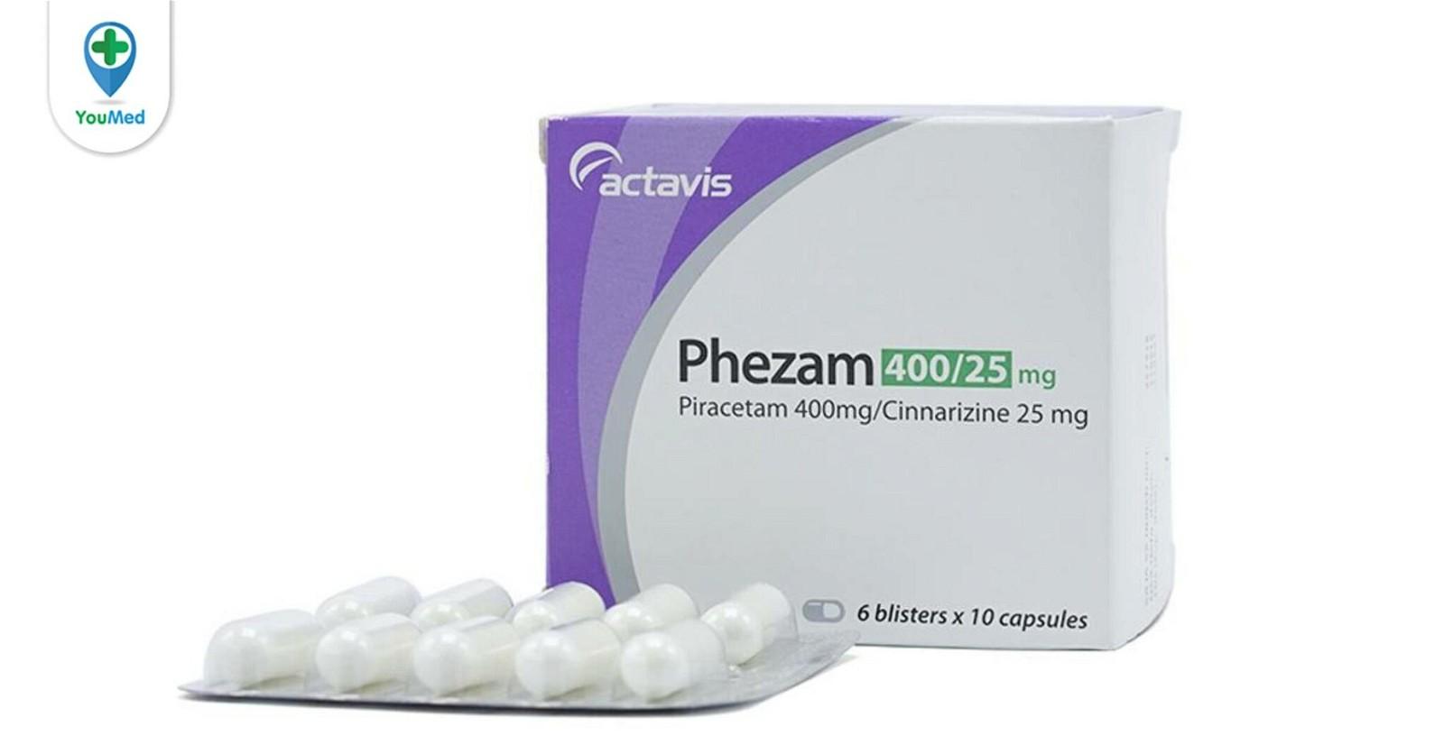 Thuốc phezam có tác dụng gì? giá, cách dùng và những điều cần lưu ý
