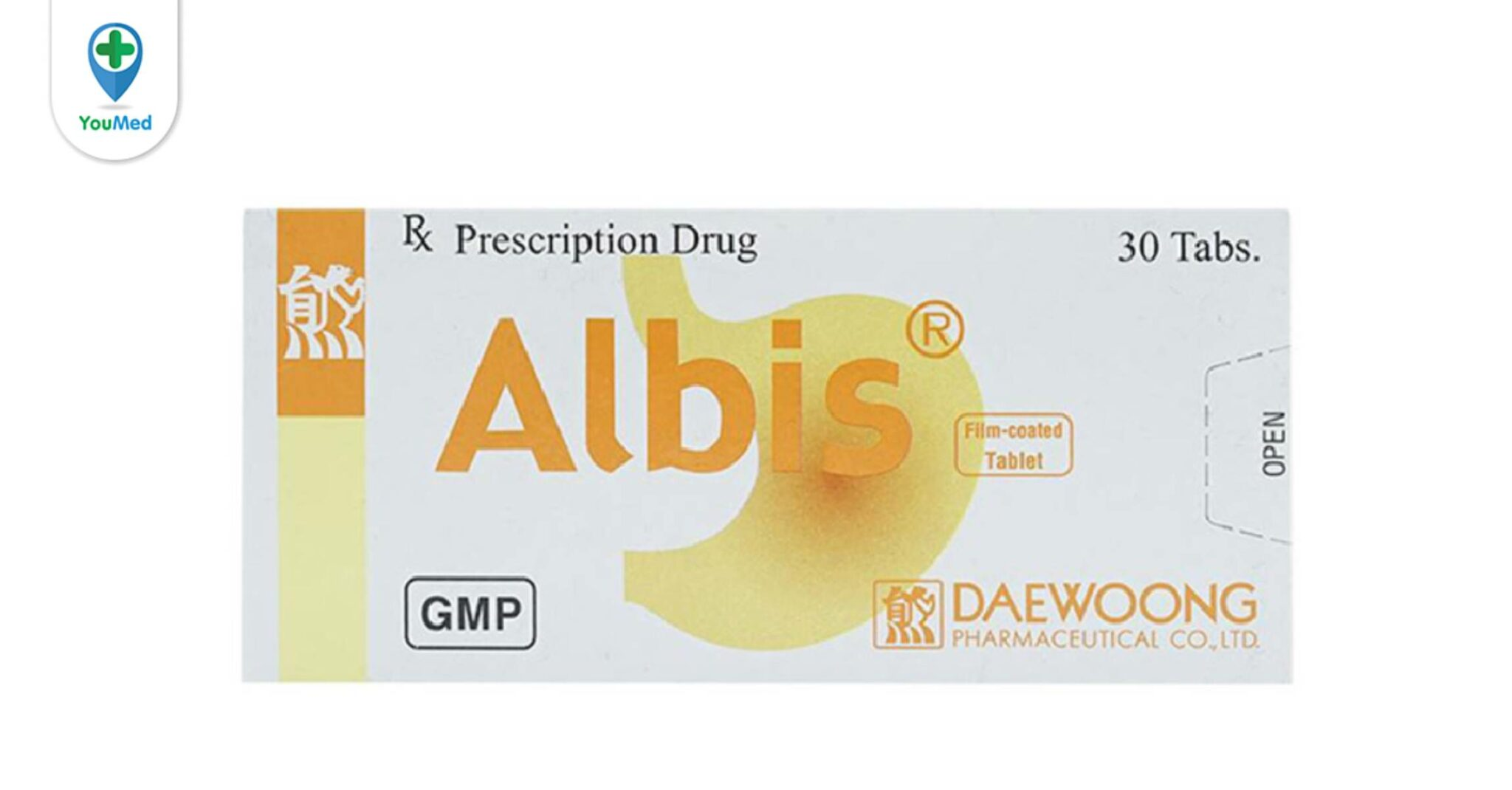 Thuốc Albis trị bệnh gì? giá, cách dùng hiệu quả và những điều lưu ý