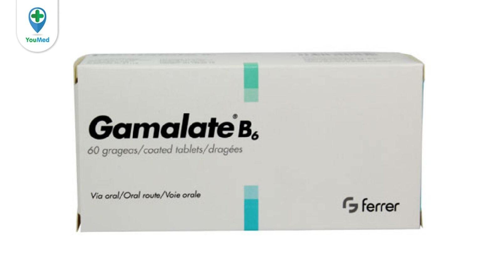 Gamalate B6: giá, công dụng, cách dùng và những điều cần lưu ý