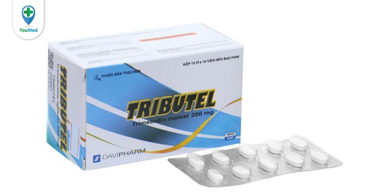 Thuốc Tributel là thuốc gì? giá, công dụng, cách dùng và những lưu ý