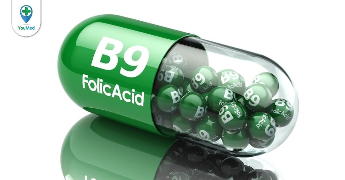 Axit folic: Dinh dưỡng quan trọng đối với cơ thể