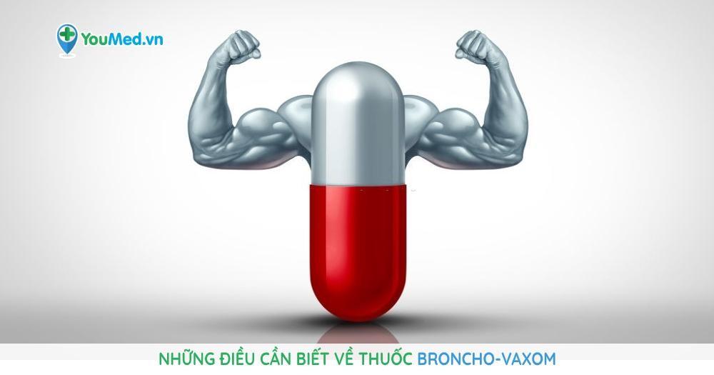 Những điều cần biết về thuốc Broncho-Vaxom