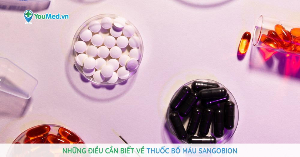 Những điều cần biết về thuốc bổ máu Sangobion