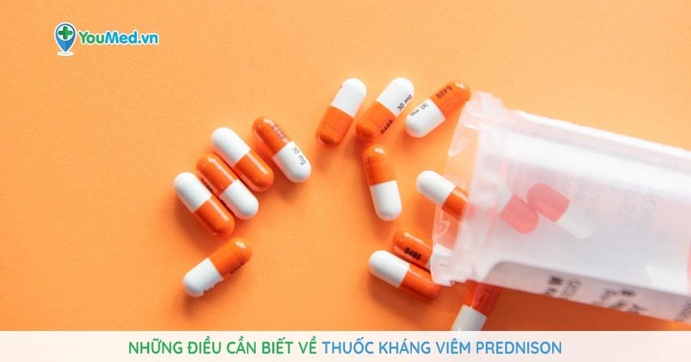 Những điều cần biết về thuốc kháng viêm Prednison