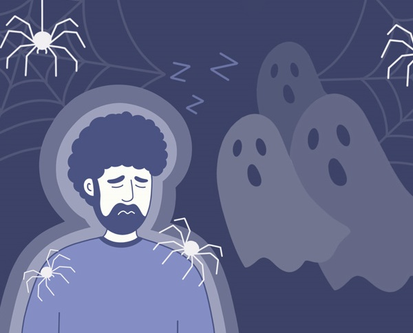 Đọc truyện hoặc xem phim kinh dị trước khi đi ngủ có thể gây ra ác mộng